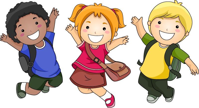 外国儿童卡通图案