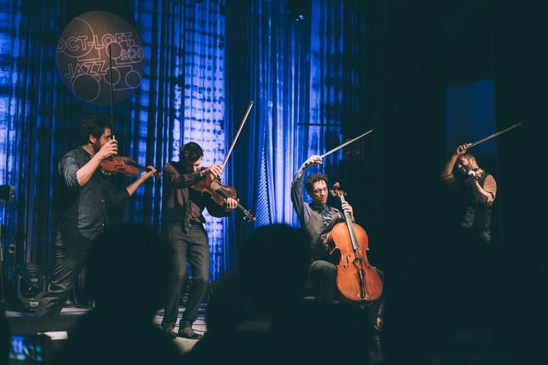 来西班牙弦乐四重奏 爵士之夜 激情热舞